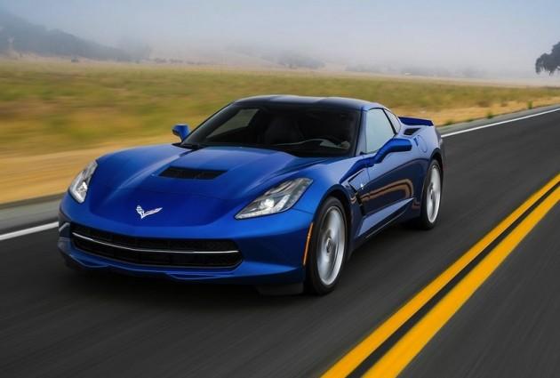 Corvette Stingray boîte 8 vitesses