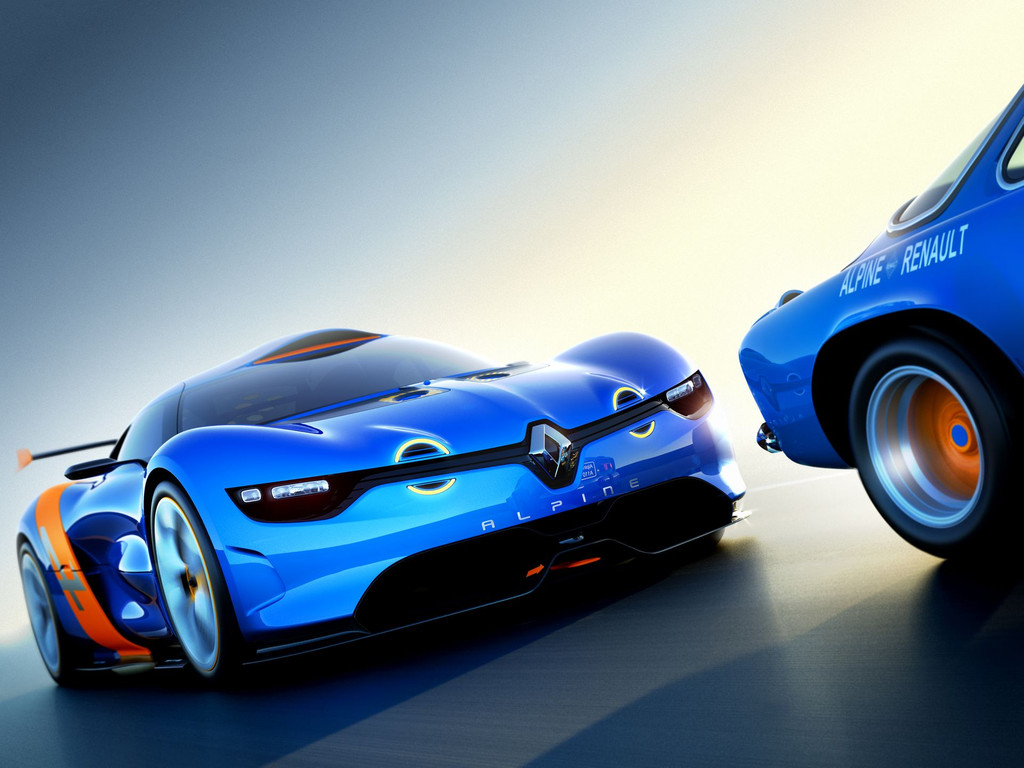 Le concept Renault Alpine en photos