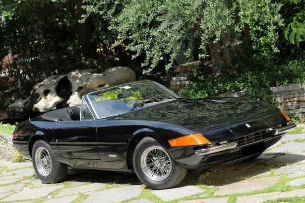 Ferrari Daytona Spider 365 GTS/4 de 1972 :série télé Miami Vice