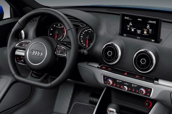 Audi A3 cabriolet planche de bord et intérieur