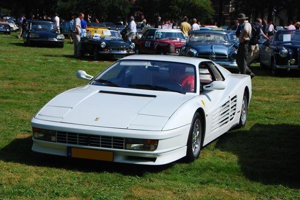 Ferrari Testarossa de 1986 : série télé Miami Vice