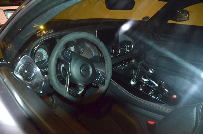 L'intérieur de la Mercedes AMG GT Edition