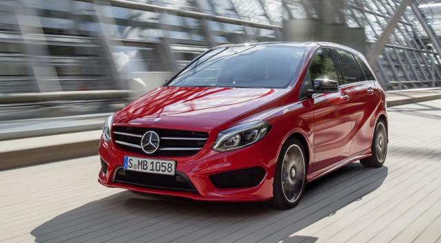 Mercedes-Benz : Légères retouches pour le facelift de la Classe B