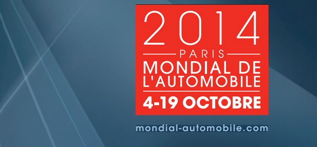 Mondial de l'Automobile 2014 : A Paris du 4 au 19 octobre