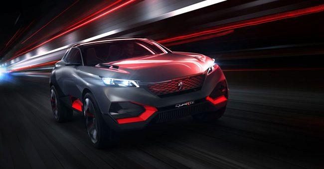 concept-car Peugeot Quartz 2014