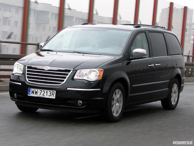 Nouveau Chrysler Grand Voyager