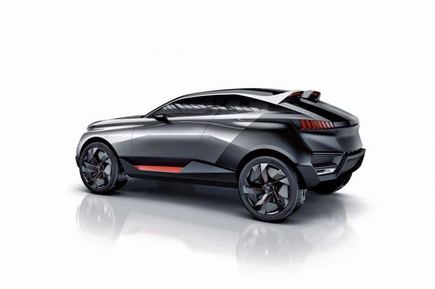 Peugeot Quartz : le concept car de Peugeot présenté à Paris au mondial de l'automobile