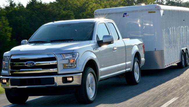 Ford F150 : la mise à jour du pick up le plus populaire de Ford. Châssis aluminium pour plus de légèreté et une meilleure consommation.