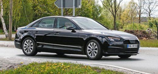 L'Audi A4 Sedan vue de devant