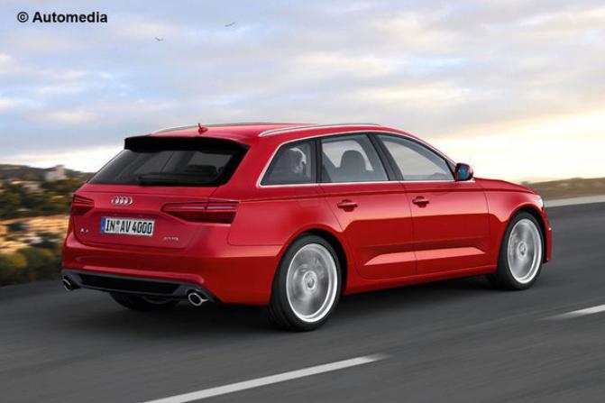 Le spyshot de l'Audi A4 Avant