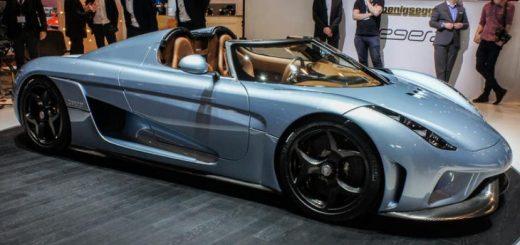 La Koenigsegg Regera au Salon de Ganève 2015