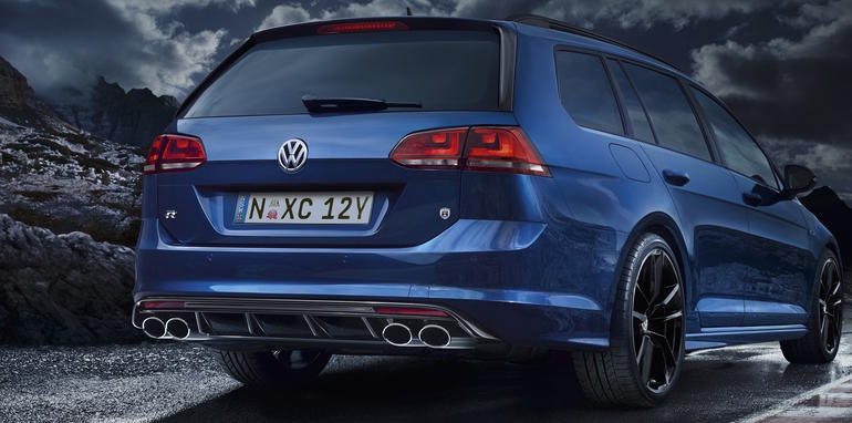 Golf R break arriere