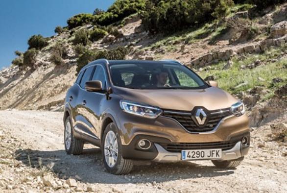 Une calandre caractéristique de la marque Renault avec le SUV Kadjar