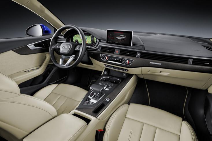 L'habitacle de l'Audi A4 2015