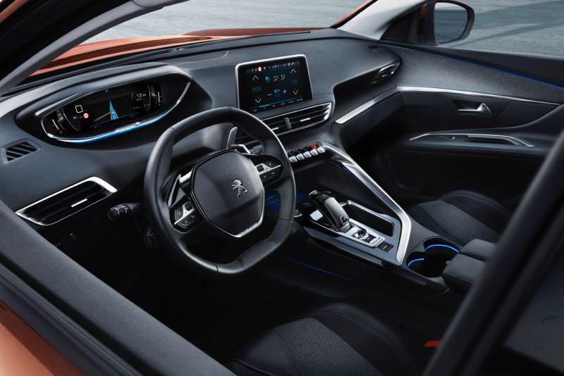 Console de bord Peugeot 3008