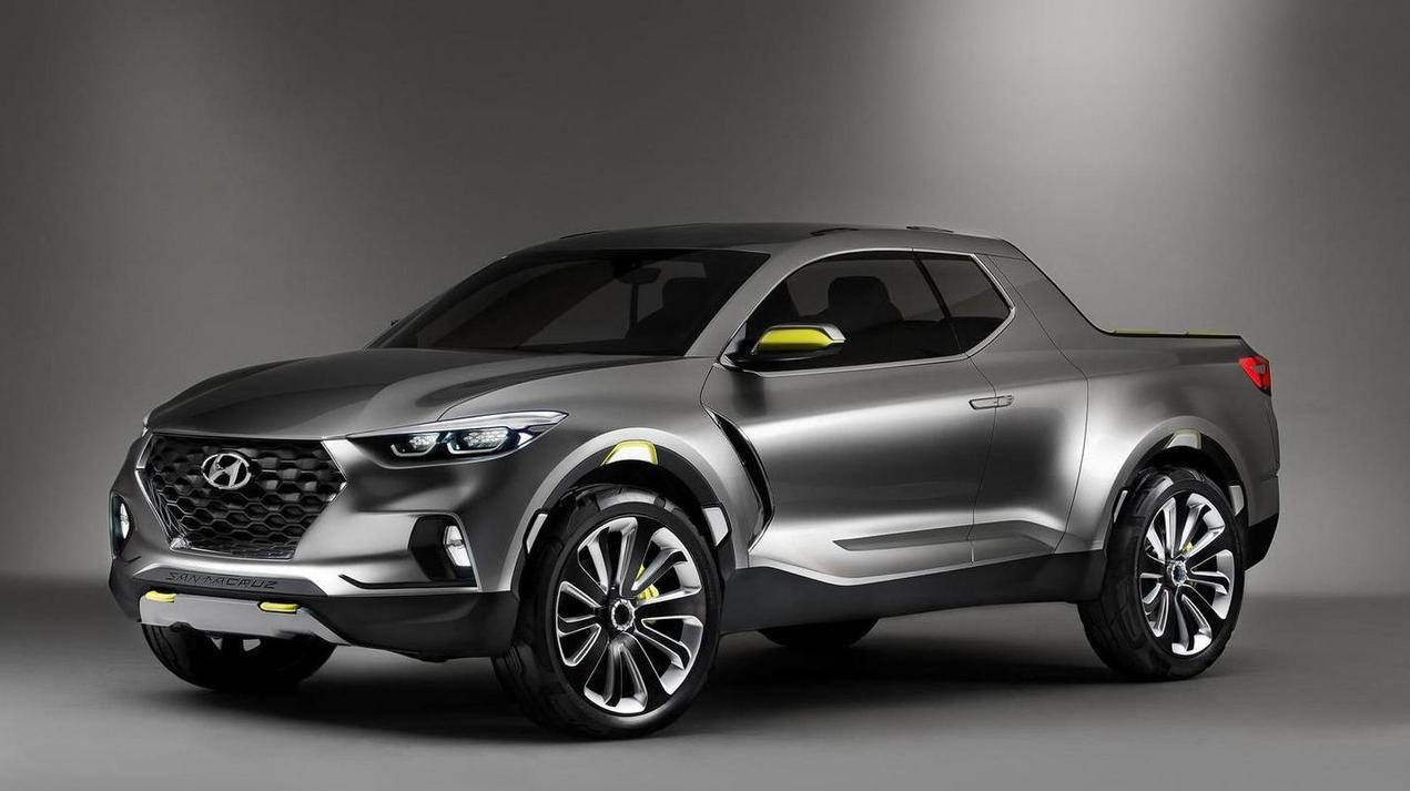 Hyundai Santa Cruz face gauche