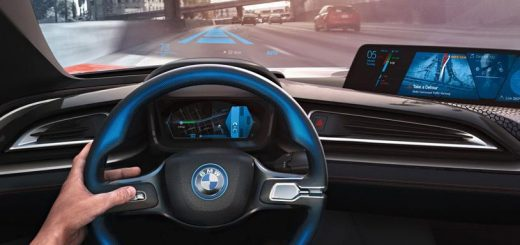 Voiture autonome BMW