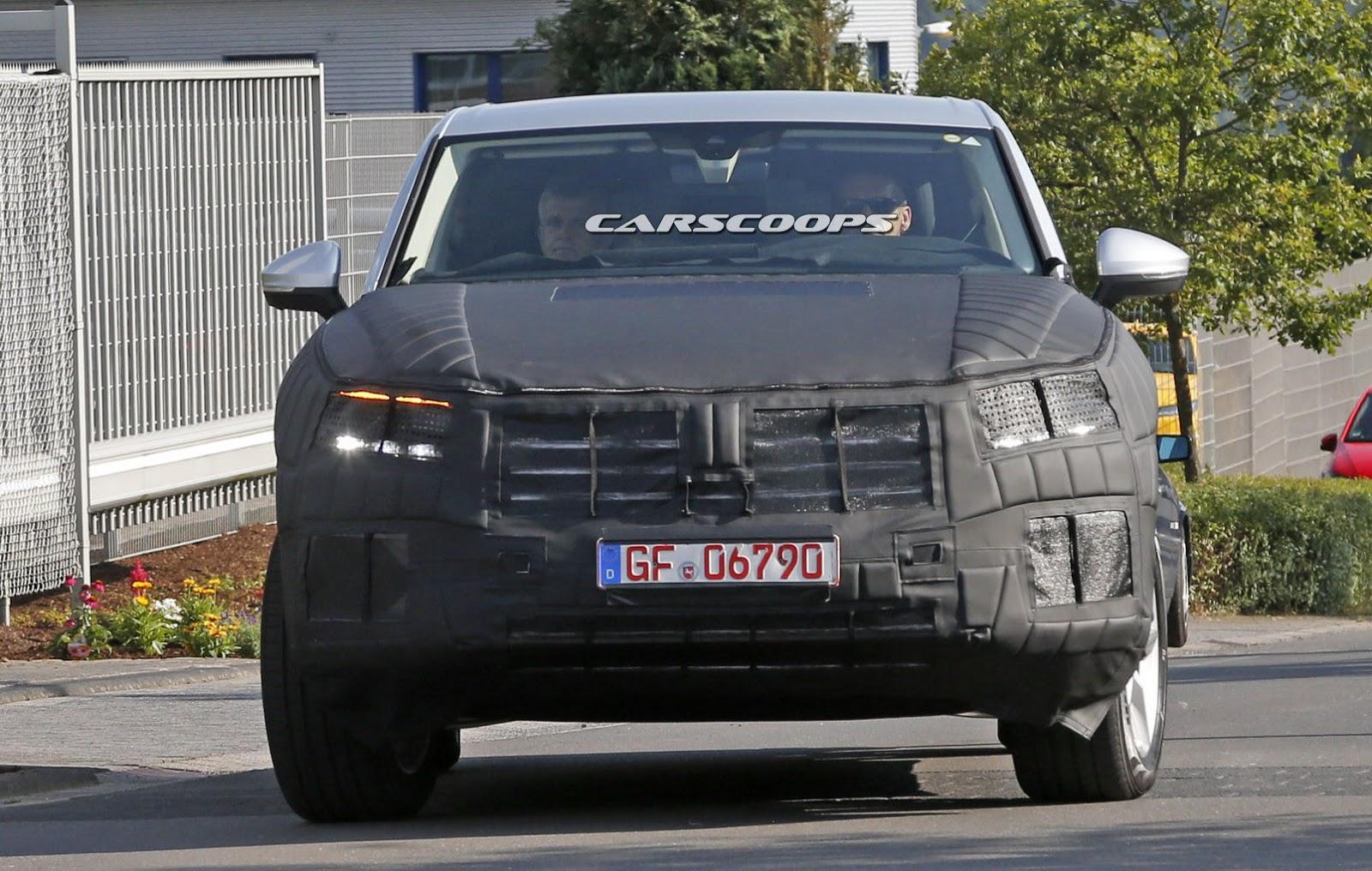 Face avant du Volkswagen Touareg