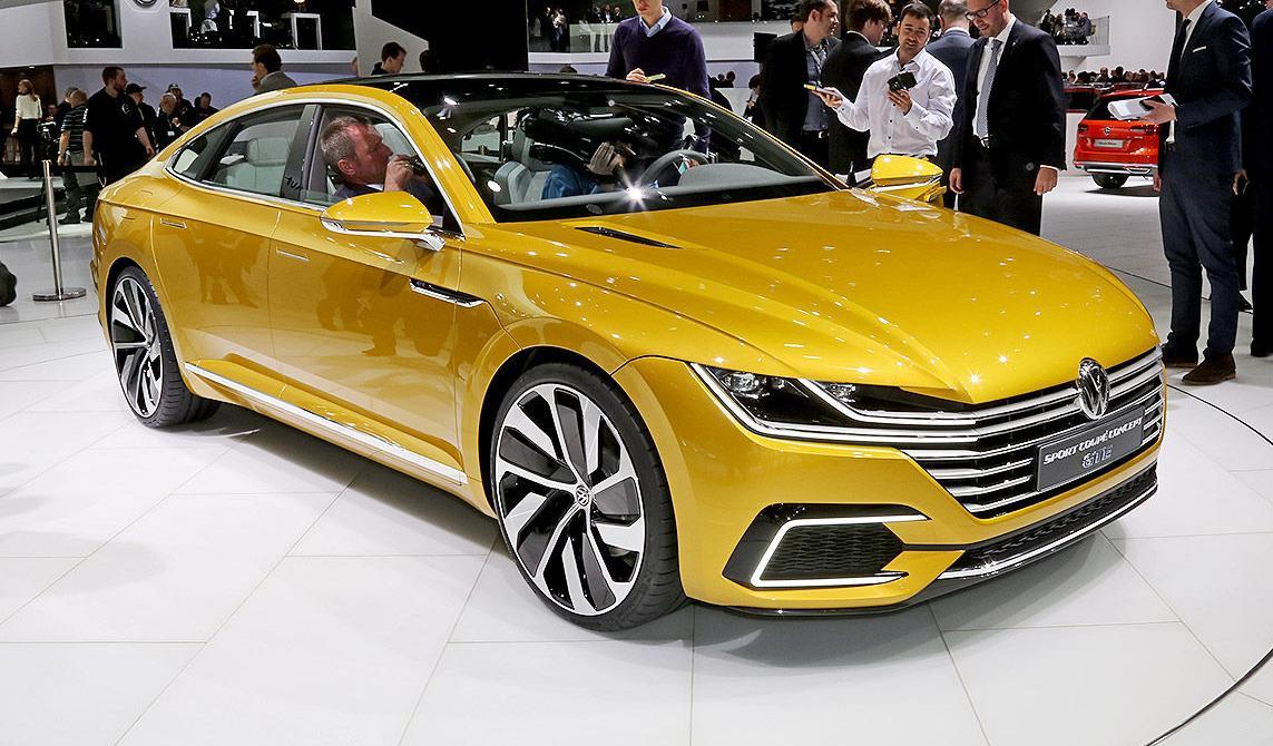 Volkswagen passat cc 2017