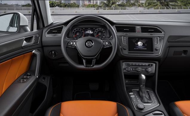 Habitacle du Volkswagen Tiguan XL