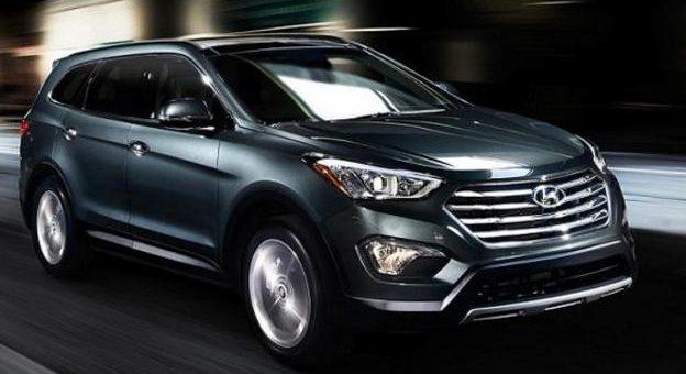 Un SUV de la marque Hyundai