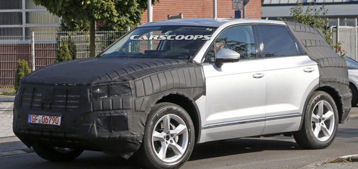 Le nouveau Volkswagen Touareg