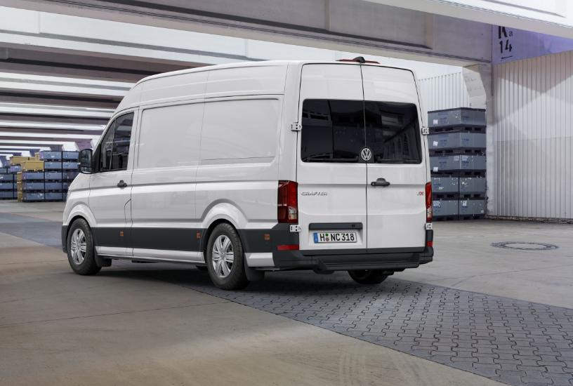 vw crafter 2017 face arriere