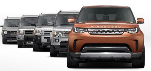 Le nouveau Discovery 2017 de Land Rover