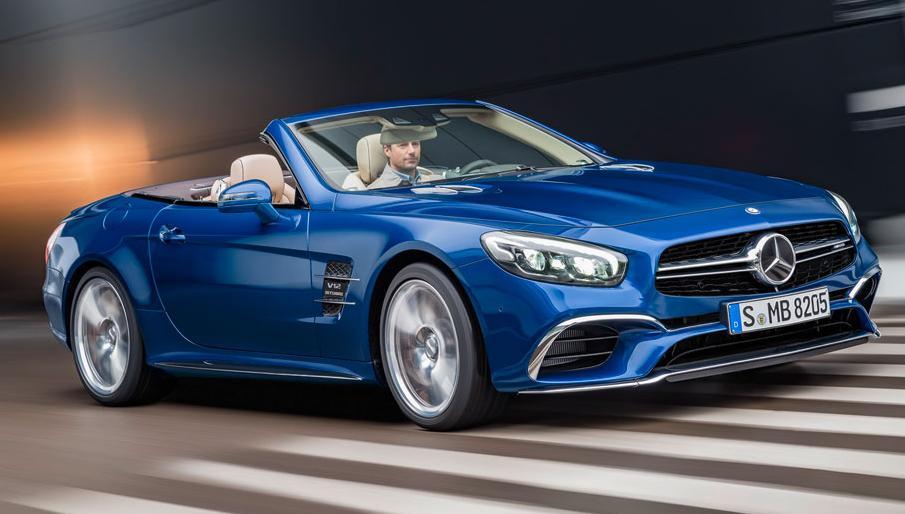 Nouvelle Mercedes SL développée par AMG