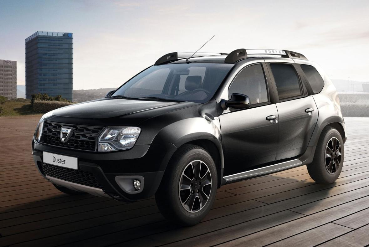duster black touch dacia annonce une finition haut de gamme pour son suv. Black Bedroom Furniture Sets. Home Design Ideas