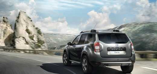 dacia duster black touch face arriere