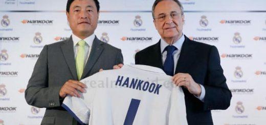 hankook devient le sponsor officiel du real madrid
