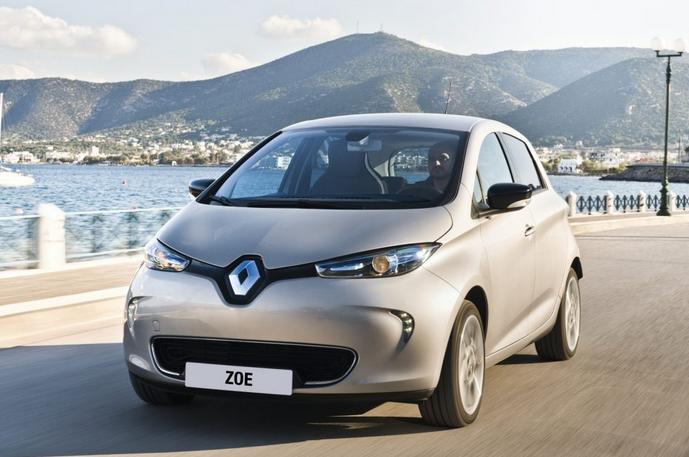 La voiture electrique Renault Zoe