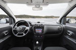 Nouveau Dacia Lodgy Stepway interieur 2017