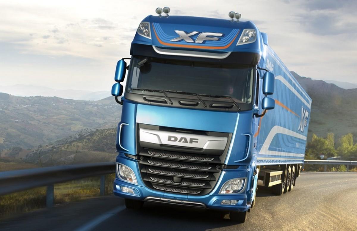 Un camion DAF