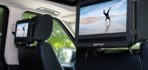 Lecteur de DVD pour voiture