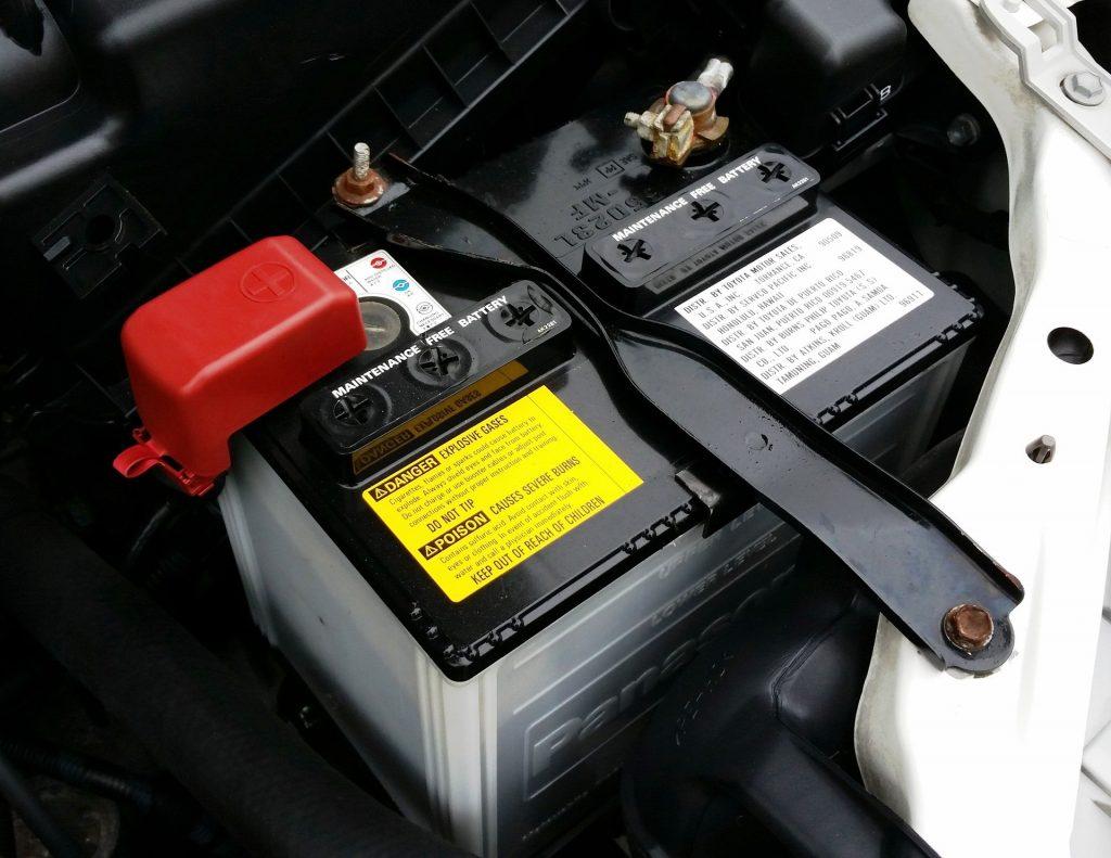 Batterie d'une voiture