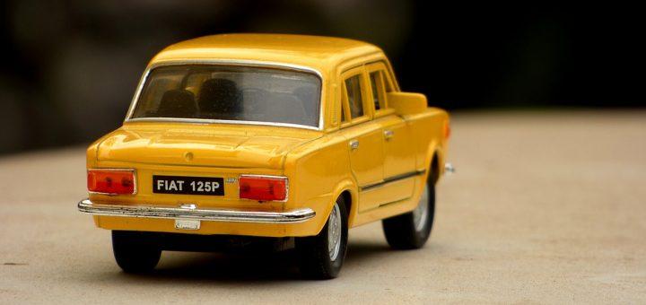 Voiture miniature Fiat