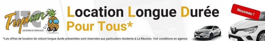 Location de voiture longue durée à La Réunion